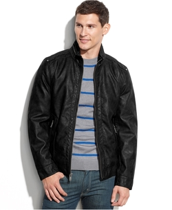 Guess - Faux Leather Moto Jacket