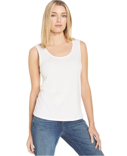 Eileen Fisher - Silk Scoop-Neck Tank Top