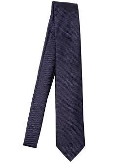 Brioni  - Micro Check Silk Jacquard Tie