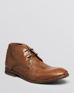 H By Hudson - Cruise Leather Chukka Boots