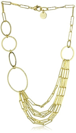 1AR by UnoAerre - Oval And Round Multi-Link Necklace