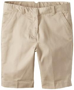 Dockers -  Girls Plus-Size Twill Bermuda Short