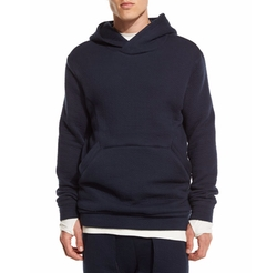 Helmut Lang  - Textured-Knit Pullover Hoodie