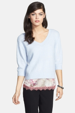 Chelsea28  - V-Neck Ballet Sweater
