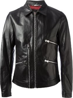 Dolce & Gabbana - Buffalo Leather Jacket