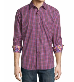 Robert Graham - Clark Jr. Plaid Long-Sleeve Shirt