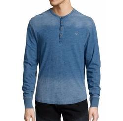True Religion - Long Sleeve Henley Shirt
