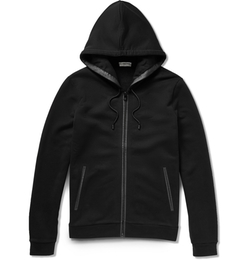 Balenciaga - Pocket-Detailed Fleece-Back Cotton-Jersey Hoodie Jacket