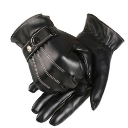 Coromose - Leather Winter Super Driving Warm Gloves