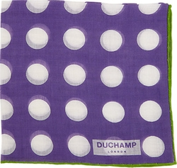 Duchamp - Polka Dot Pocket Square