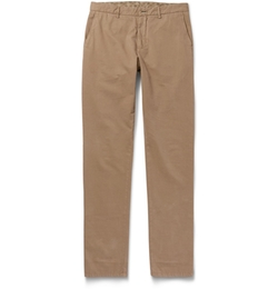 Etro - Washed Cotton-Blend Chinos