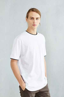 The Narrows - Tipped Ringer Scoop Tee