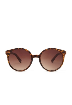 Forever21 - Leopard Frame Round Sunglasses