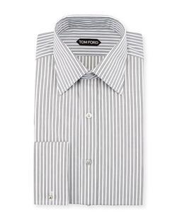Tom Ford - Striped French Cuff Dress Shirt