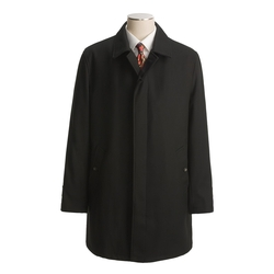 John Varvatos - Wool Twill Overcoat