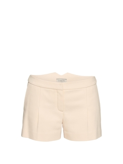 Lanvin - Pleat-Front Gabardine Shorts