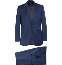 Huntsman - Slim-Fit Wool Suit