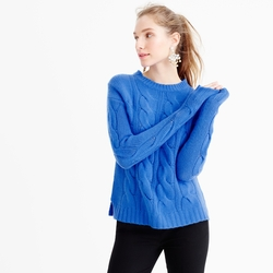 J.Crew - Collection Cashmere Cable Sweater