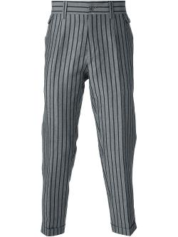 Dolce & Gabbana  - Striped Tapered Trouserst