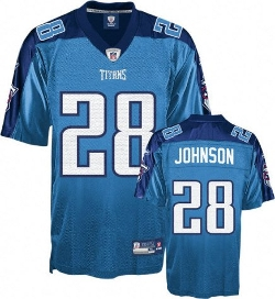 Reebok - Tennessee Titans Chris Johnson Replica Jersey