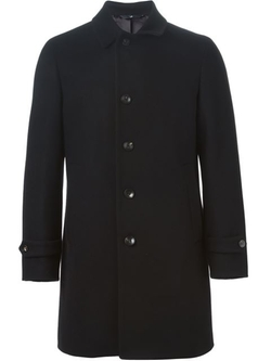Hevo - Buttoned Single Breasted Coat