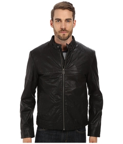 Cole Haan - Moto Jacket With Articulated Sleeves
