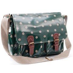Anladia  - Oilcloth Polka Dots Messenger Bag