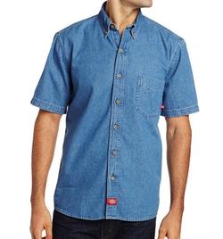 Dickies - Short Sleeve Denim Work Shirt