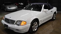 Mercedes-Benz - 1998 SL-Class Convertible
