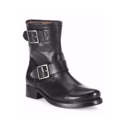 Frye  - Vicky Engineer Leather Buckle Boots
