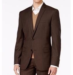 Bar III - Slim-Fit Mini-Check Jacket