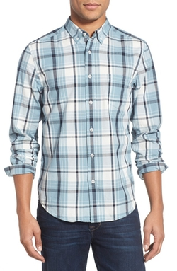 Life After Denim  - Trim Fit Long Sleeve Plaid Woven Shirt
