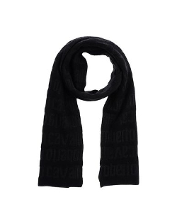Roberto Cavalli - Knitted Oblong Scarf