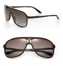 Carrera - New Safari Plastic Aviator Sunglasses