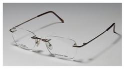 D&A - Rimless Titanium Eyeglasses