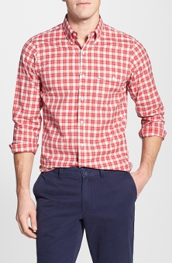 J. Press York Street - Trim Fit Check Sport Shirt