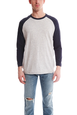Todd Snyder - 3/4 Sleeve Baseball Tee Shirt