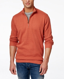Weatherproof  - Vintage Quarter-Zip Pullover Sweater