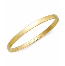 kate spade new york - Heart of Gold Idiom Bangle Bracelet