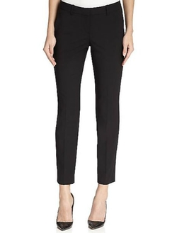Theory  - Testra Edition Stretch Wool Cropped Pants