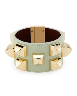 Givenchy - Studded Leather Cuff Bracelet