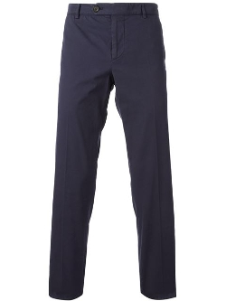Brunello Cucinelli - Cotton Blend Chino Trousers