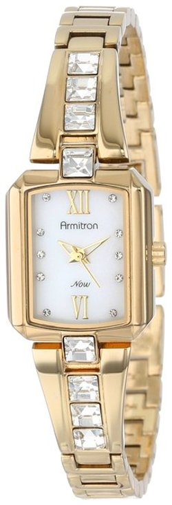 Armitron - Gold-Tone Bangle Watch