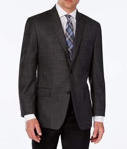 Michael Michael Kors - Classic-Fit Windowpane Plaid Sport Coat