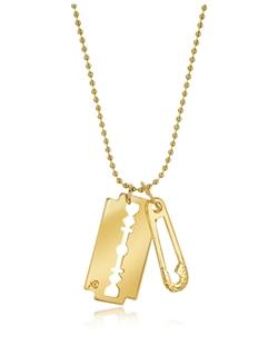 Mcq Alexander Mcqueen - Razor Pendant Necklace