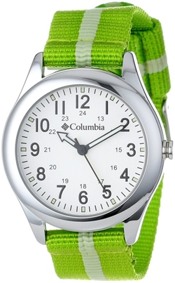 Columbia - Unisex Field Fox Silver-Tone Watch