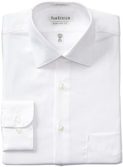 Van Heusen - Poplin Spread Collar Dress Shirt