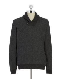 Hudson North - Shawl Collared Sweater