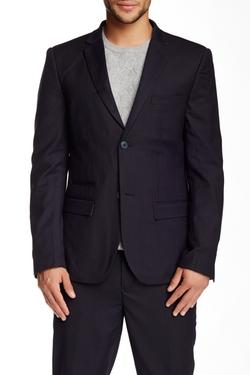 Edge by WD.NY  - Button Notch Collar Pocket Jacket