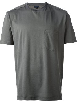 Lanvin  - Poplin Panel T-shirt